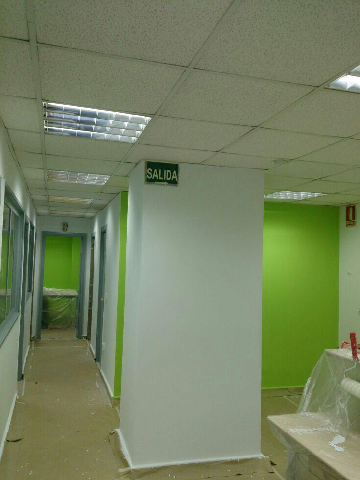 Pintar oficina for Servicios de oficina